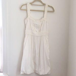 BCBG White Semi-Formal Dress